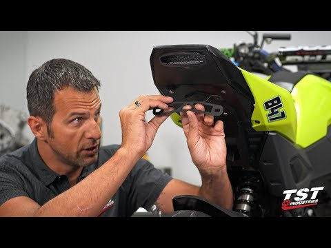 Part 2 - How to install Undertail Fender Eliminator Bracket on a 2017+ Honda Grom by TST Industries