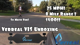 25 MPH Verreal V1S Electric Skateboard!!