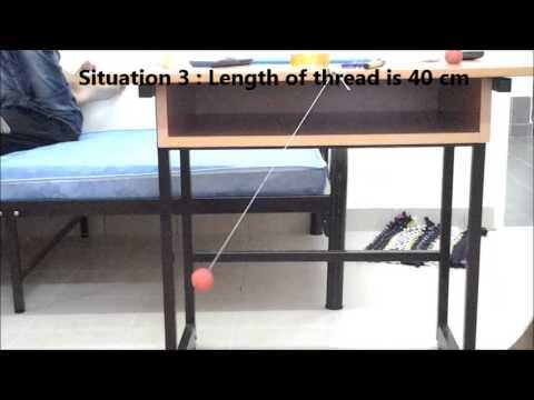 Physics Experiment (Pendulum)
