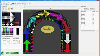 Pixel Led Arch Gate Advance Animation Software