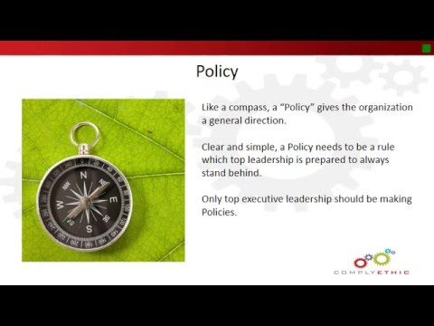 Policies v. Procedures: What is the Difference?
