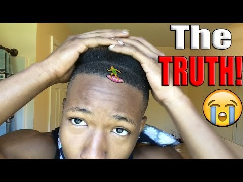 THE TRUTH ABOUT MY HAIRLINE / FRONT TAPER! 😢