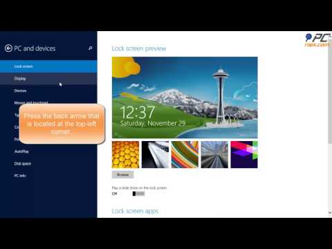 How to personalize the start screen in Windows 8.1?