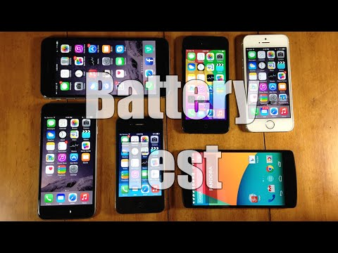 iPhone 6 vs iPhone 6 Plus vs More Battery Test!