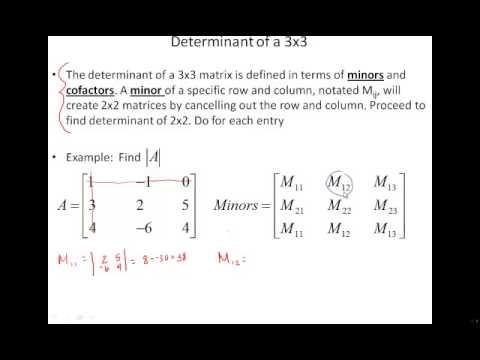 8 4 Determinant