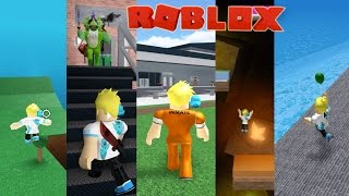 10 Different Roblox Games! Meep City, Prison Life,  Murder, High School, Pizza Place,  Hide N Seek