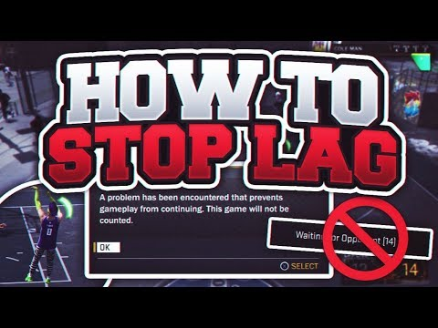 NBA 2K18 HOW TO STOP LAGGING IN THE PARK 100% - HOW TO REMOVE LAG AND FIX THE 2K SERVERS IN NBA 2K18