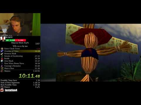 The Legend of Zelda: Majora's Mask Any% Speedrun (1:20:15)