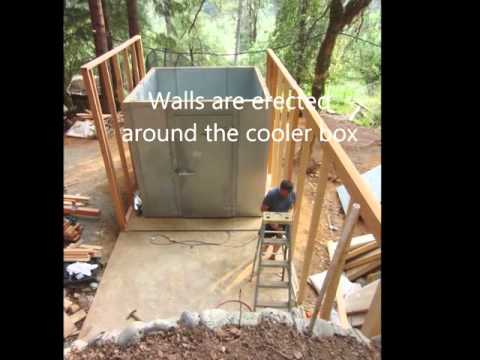 Building a Super Insulated, Off Grid Walk-in Freezer