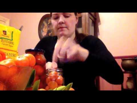 From The Garden To The Kitchen - Cumquat Brandy