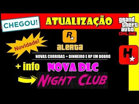 GTA V : NOVA ATUALIZAÇÃO + INFO DA NOVA DLC 1.44 Nightclub Update (BOATES E BALADAS)