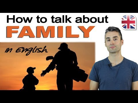 Talking About Your Family in English - Spoken English Lesson