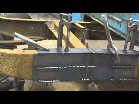 Backyard Frame Repair: Fixing a rusted/cracked truck frame