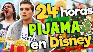 24 HORAS EN PIJAMA EN DISNEY !!/ Memo Aponte