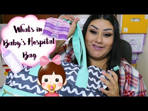 Whats in Baby's Hospital Bag