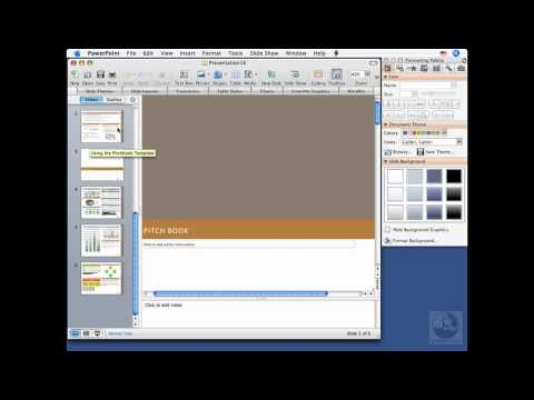 PowerPoint for Mac: Creating new presentations | lynda.com