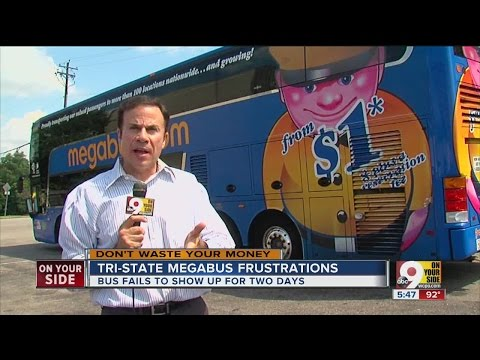Don't Waste Your Money: Megabus malfunctions