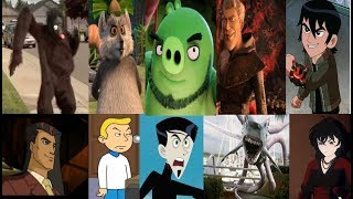 Defeats of my favorite Animated Non Disney villains part 4