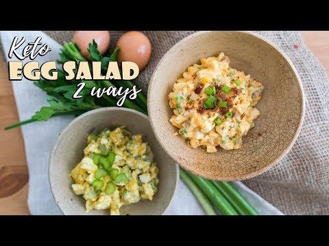 Keto Egg Salad Two Ways
