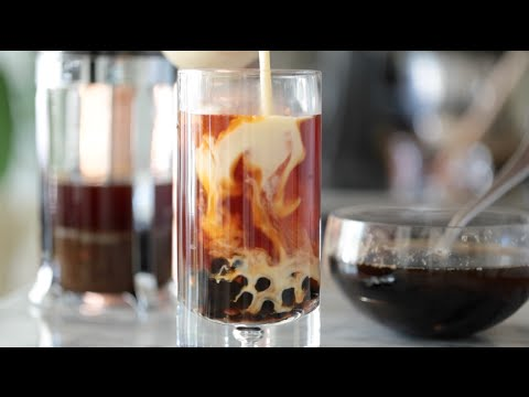Thai Tea with Boba (Bubble Tea) | Byron Talbott