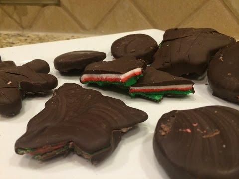 Peppermint Patties - Christmas Dessert Recipes