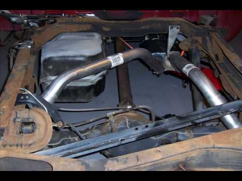 1989 Silverado 350 K-1500 High Flow Exhaust Installation