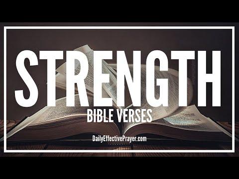 Bible Verses On Strength - Scriptures For Strength (Audio Bible)