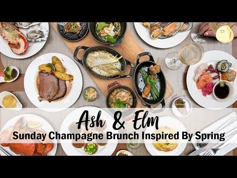 Ash & Elm - Sunday Champagne Brunch Inspired By Spring, At InterContinental Singapore