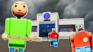LEGO BALDI ESCAPE SURVIVAL CHALLENGE! - Brick Rigs Gameplay Challenge - Lego Baldi