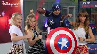 Event: Samia Longchambon, Tina O'Brien, Tallia Storm | #MarvelSummer | DisneyLand Paris (TFC)