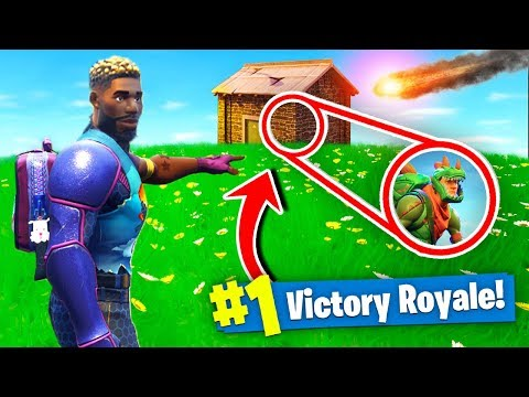 The METEOR WON US A GAME Of Fortnite Battle Royale!