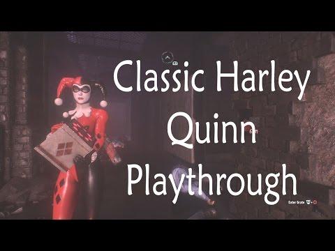 Batman: Arkham Knight - Harley Quinn Story Pack (Classic Harley Playthrough)