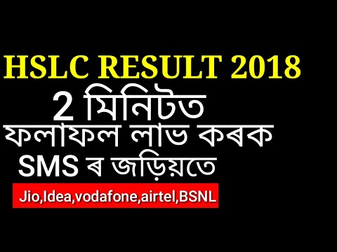 ASSAM HSLC RESULT 2018 Cheek your Result in 2minutes.