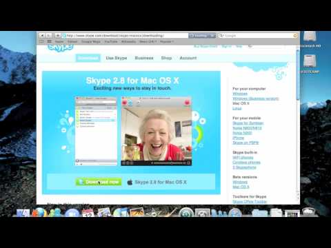 How to download and install Skype on Mac OSX Snow Leopard - 中文翻譯