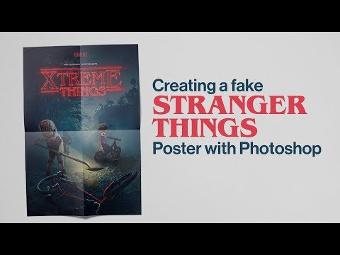 Creating a Fake Stranger Things Poster with Photoshop