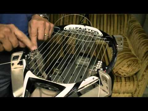 Stringing 16 Main racket