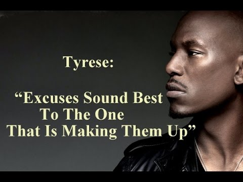 EXCUSES -- Motivational Video (Fitness and Life Motivation) Tyrese Gibson PART 2