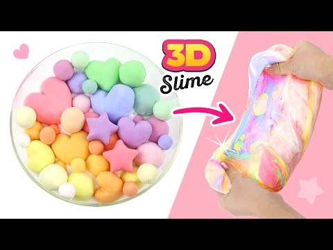 DIY PASTEL CLAY SLIME!!! Aesthetic ASMR Clay DIY and Satisfying Slime Experiments!