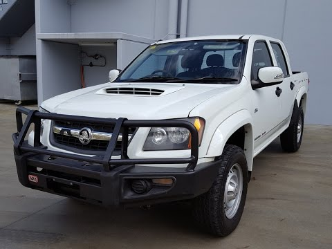 (SOLD)2010 Turbo Diesel Twin Cab 4x4 Holden Colorado review