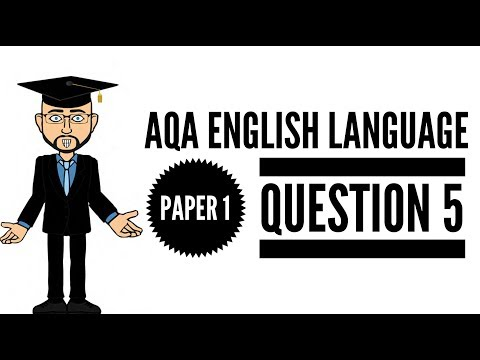 Extensive & Ambitious Vocabulary:  English Language Exam Question 5
