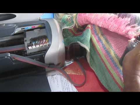 Epson R230 Printer red alert solve system  Final- bangla tutorial