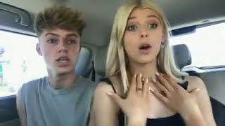 Loren live on instagram with Hrvy