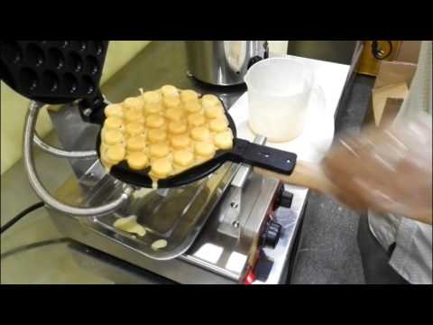 Waffle Egg Bubble Maker Making process