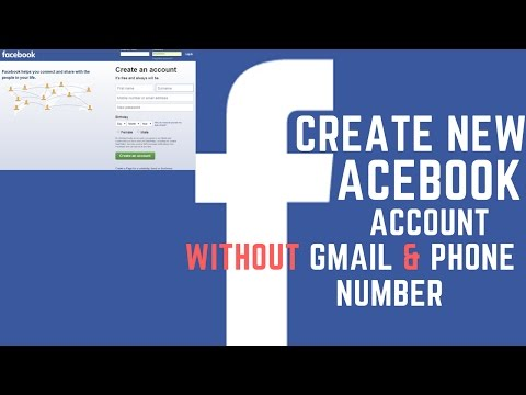 How to Create New Facebook Account Without Gmail & Phone Number