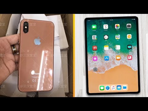 Gold iPhone X Coming, Face ID iPad Pro Release Date & Smaller HomePod Rumors!