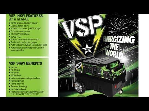 The VSP Solar Generator - It drives!
