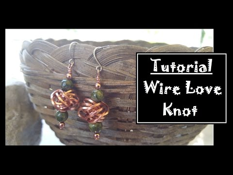 DIY Wire Love Knot
