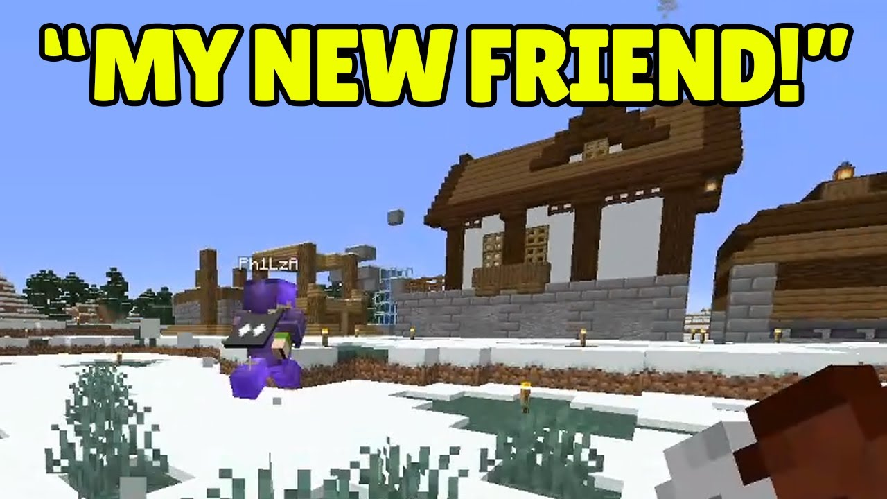 Philza ADOPTS Ranboo and lets him life next to Technoblade on Dream SMP!