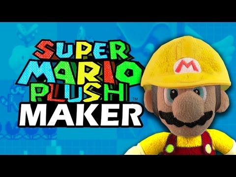 Super Mario Plush Maker - YOUR OWN LEVEL IN SUPER MARIO PLUSH!