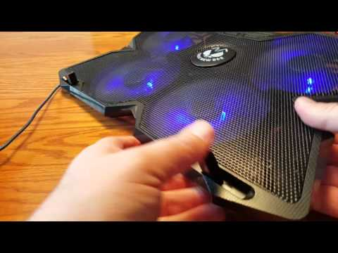 Tree New Bee Laptop Stand with Cooling Fans Review